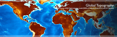 COVE Image: Global Topography