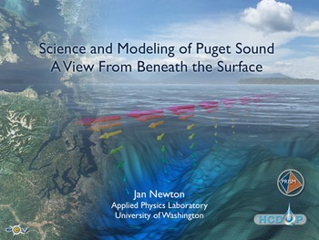 Science and Modeling of Puget Sound - Jan Newton