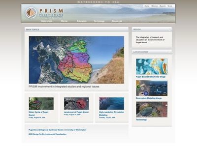 PRISM Web Home Page