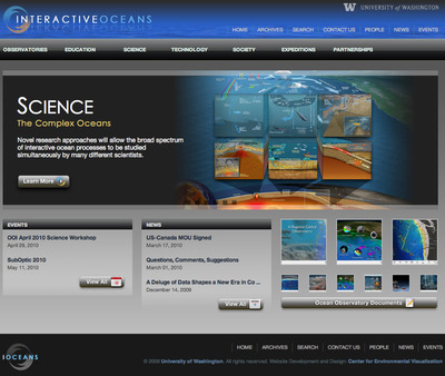 Interactive Oceans Screenshot