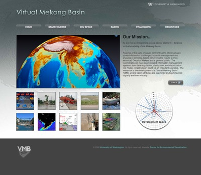 Virtual Mekong Basin Web Site