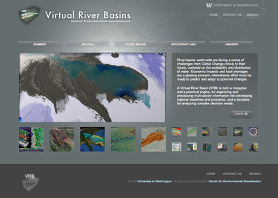 Virtual River Basins